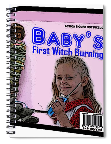 Baby's First Witch Hunt Spiral Notebook