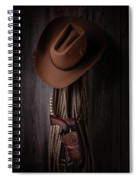Back At The Bunkhouse Spiral Notebook