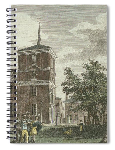 Back Of State House Spiral Notebook