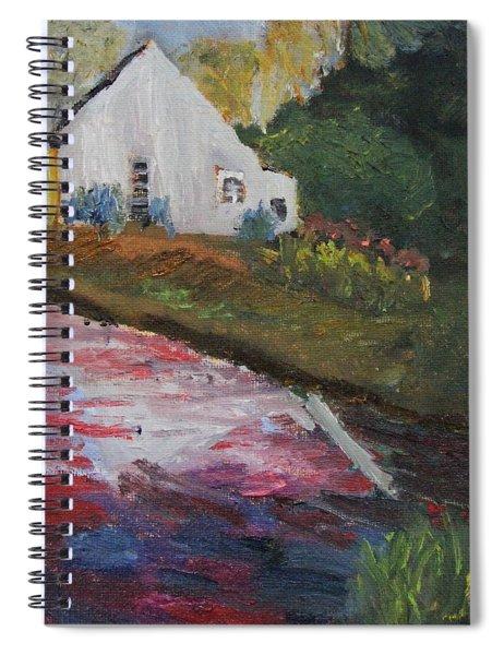 Back Yard Bog Spiral Notebook