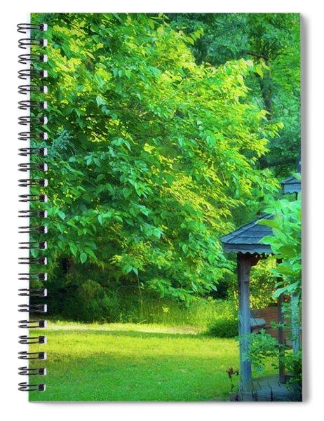 Backyard Beauty Spiral Notebook