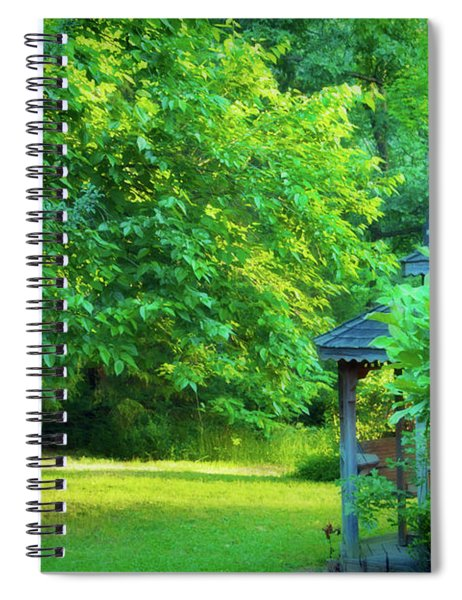 Backyard Beauty Spiral Notebook