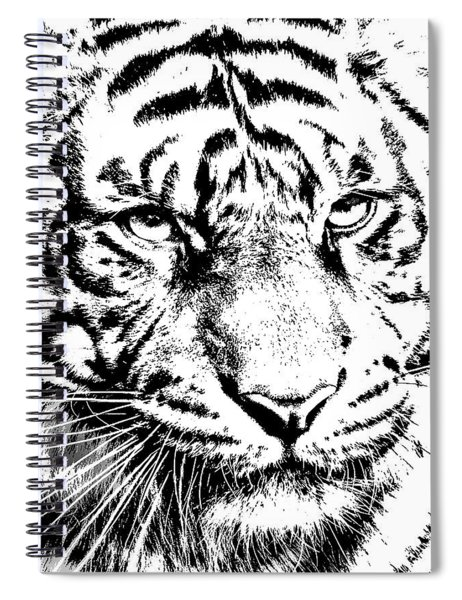 Bad Kitty Spiral Notebook