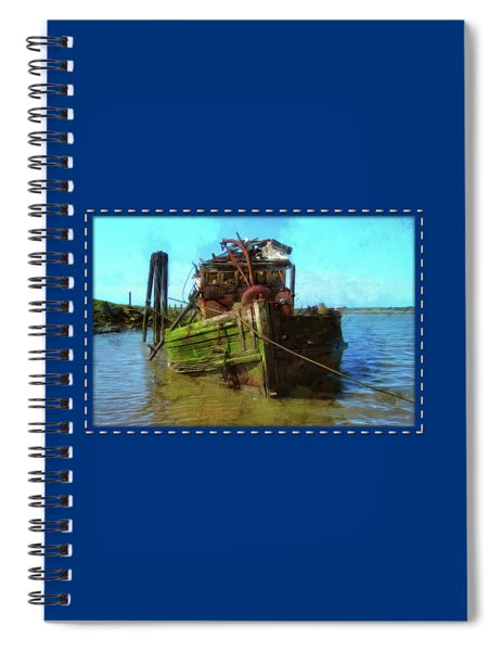 Bad Water Day Spiral Notebook