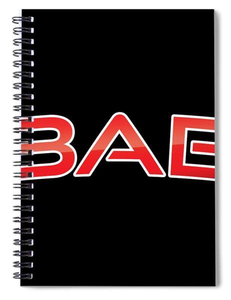 Bae Spiral Notebook