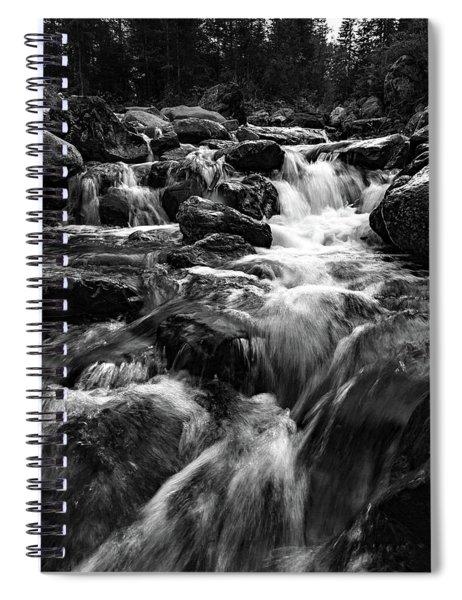 Baerguntbach, Kleinwalsertal Spiral Notebook