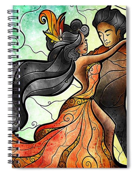 Bailar Conmigo Spiral Notebook