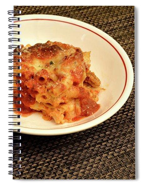 Baked Ziti Serving 1 Spiral Notebook