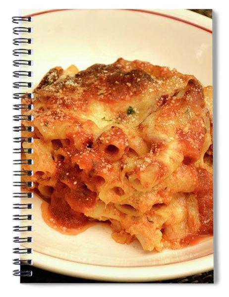 Baked Ziti Serving Spiral Notebook