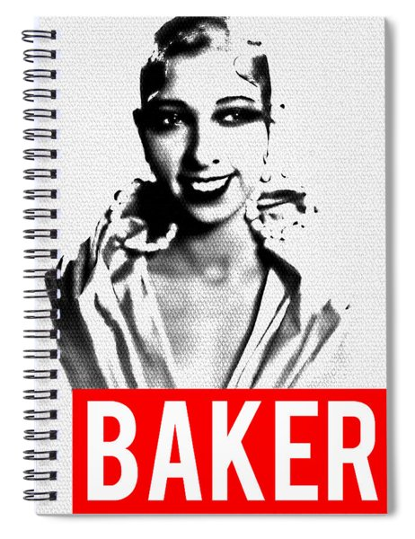 Baker Spiral Notebook by MB Dallocchio