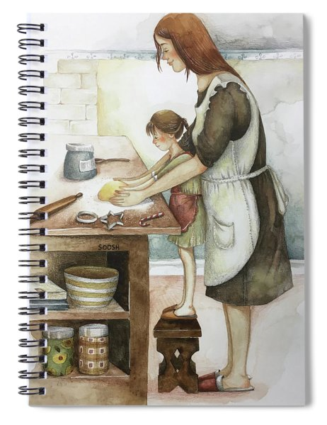 Baking With Loved Ones Spiral Notebook
