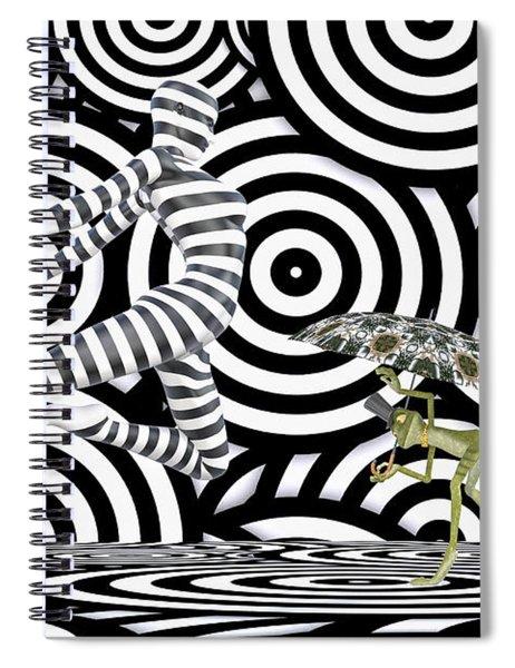 Balancing Art Spiral Notebook