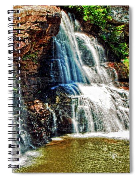Balckwater Falls - Closeup Spiral Notebook