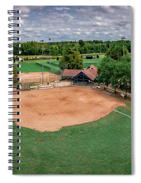 Ball Field Spiral Notebook