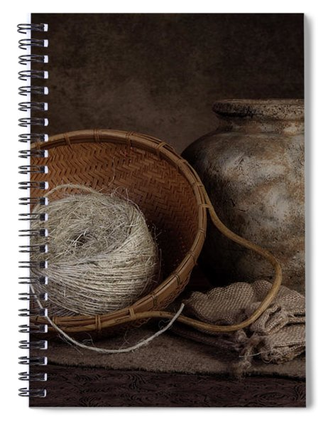 Ball Of Twine Spiral Notebook