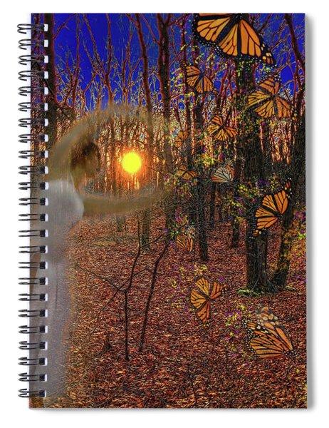 Ballerinas And Butterflies Spiral Notebook