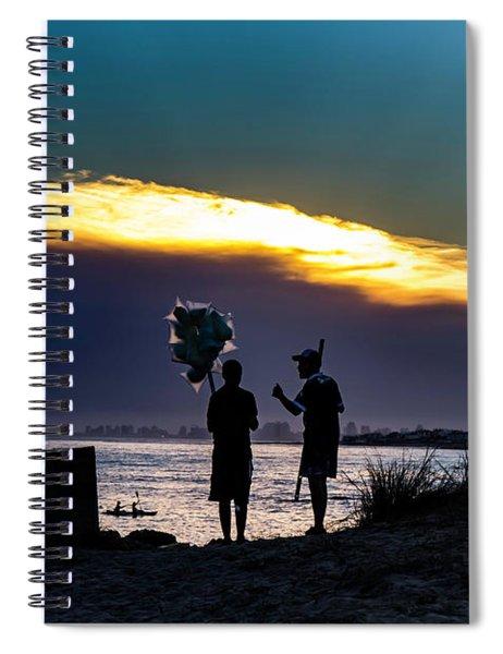 Baloon Seller Spiral Notebook