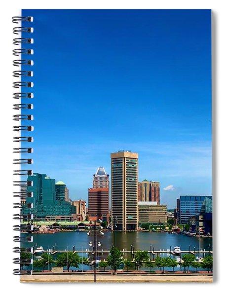 Baltimore Skyline Spiral Notebook