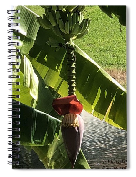 Banana Beauty Spiral Notebook