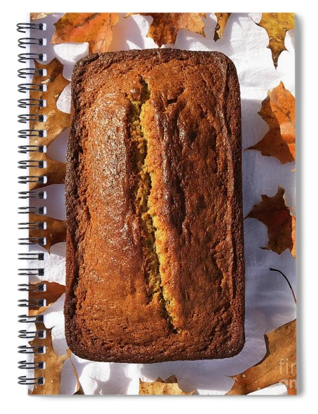 Banana Bread With Rum, Ginger And White Whole Wheat Spiral Notebook