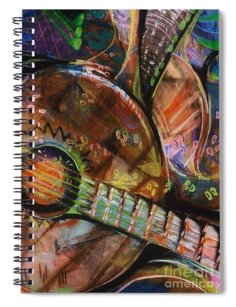 Banjos Jamming Spiral Notebook