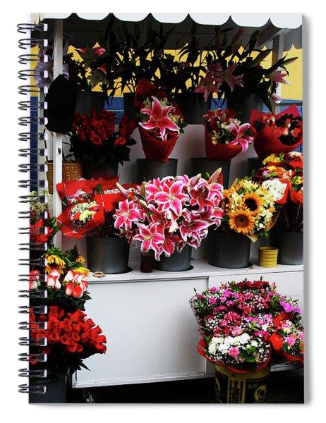 Baranco Bouquets Spiral Notebook by Rick Locke