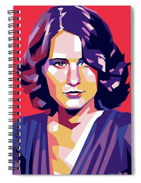 Barbara Stanwyck Spiral Notebook