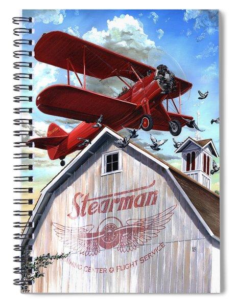 Barn Stormer - Customizeable Spiral Notebook