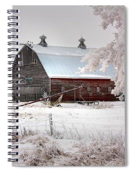 Barney Spiral Notebook