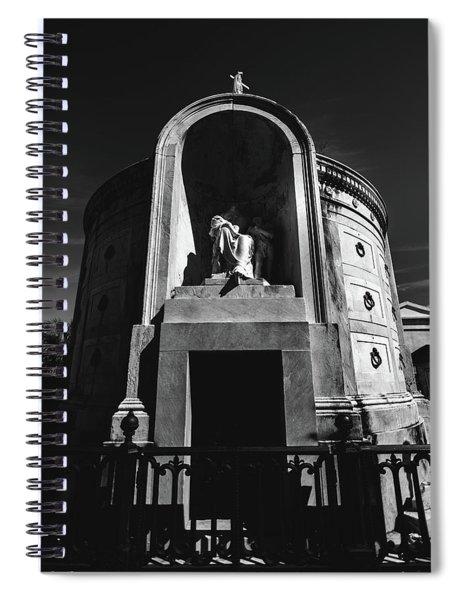 Baroque Tomb Spiral Notebook