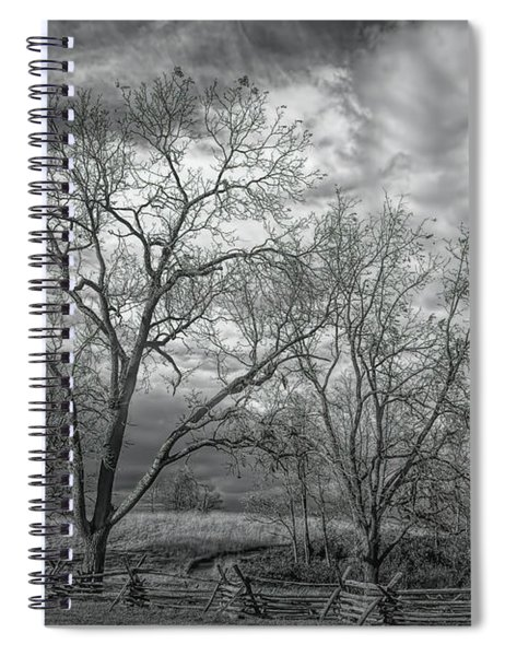 Barren Fields Spiral Notebook