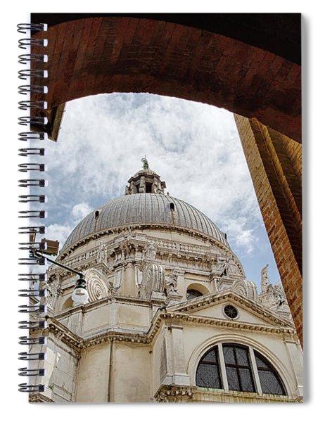 Basilica Di Santa Maria Della Salute Venice Italy Spiral Notebook