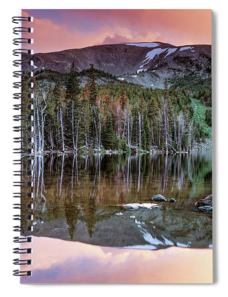 Basin Lake Sunset Spiral Notebook