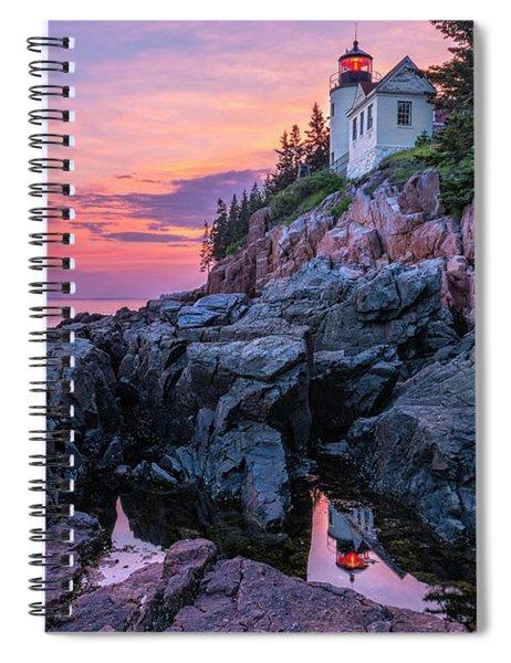 Bass Head Lighthouse - Acadia Spiral Notebook