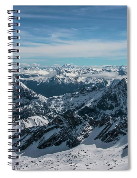 Bavarian Alps Spiral Notebook