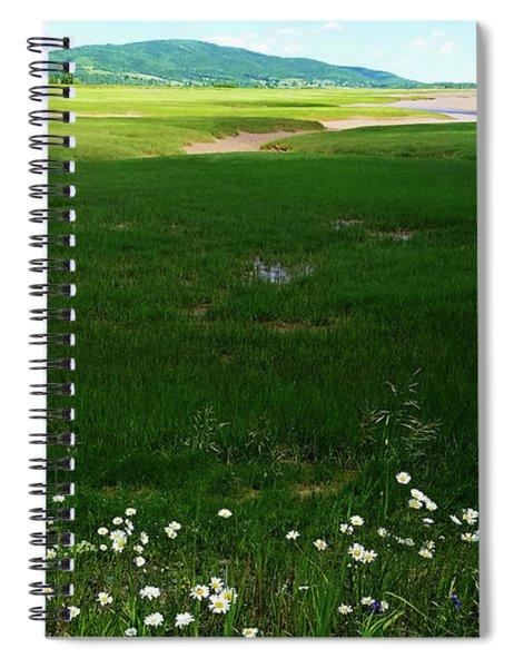 Bay Of Fundy Landscape Spiral Notebook