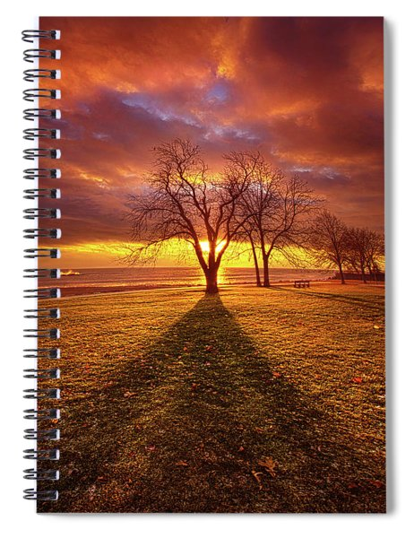 Be Still In The Moment Spiral Notebook