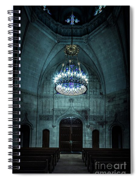 Be The Light Spiral Notebook
