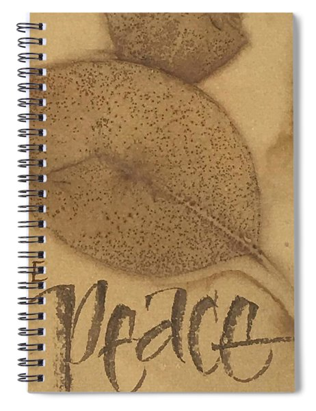 Be The Peace Spiral Notebook