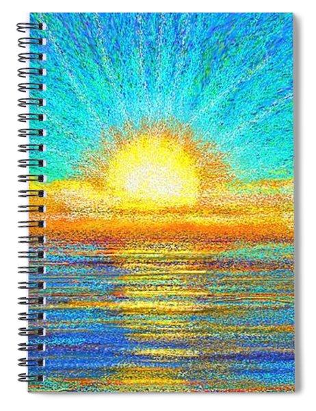 Beach 1 6 2019 Spiral Notebook
