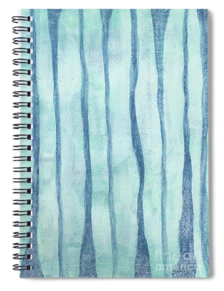 Beach Collection Beach Water Lines 2 Spiral Notebook