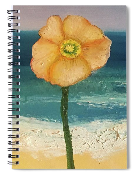 Beach Flora Spiral Notebook