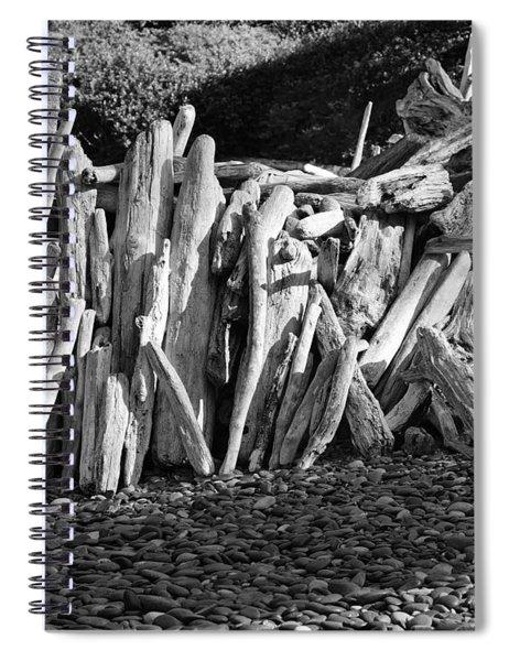 Beach Fort 2 Spiral Notebook