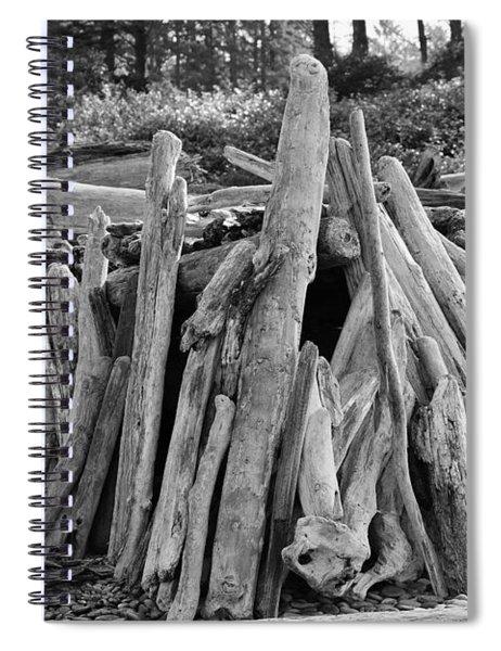 Beach Fort Spiral Notebook