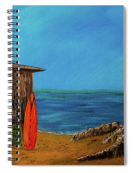 Beach House Spiral Notebook