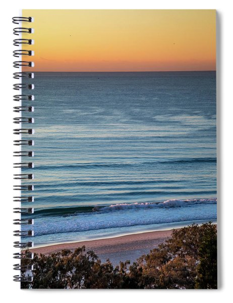Beach Moods Spiral Notebook