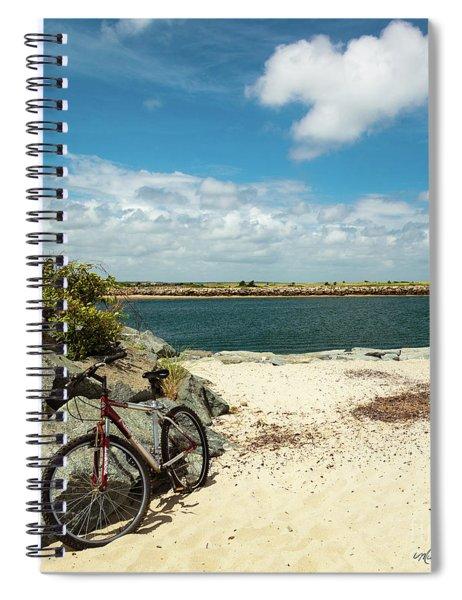 Beach Ride Spiral Notebook