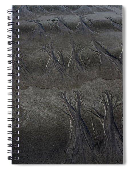 Beach Textures Spiral Notebook