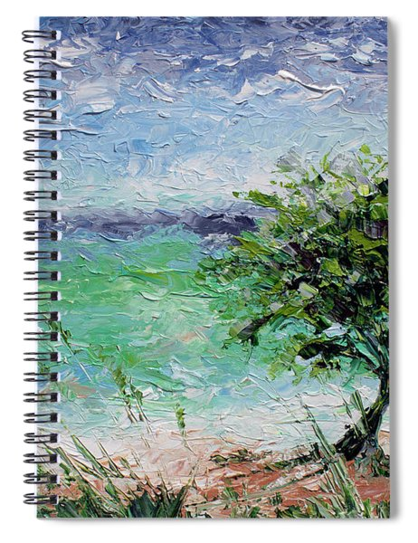Beach Tree Spiral Notebook