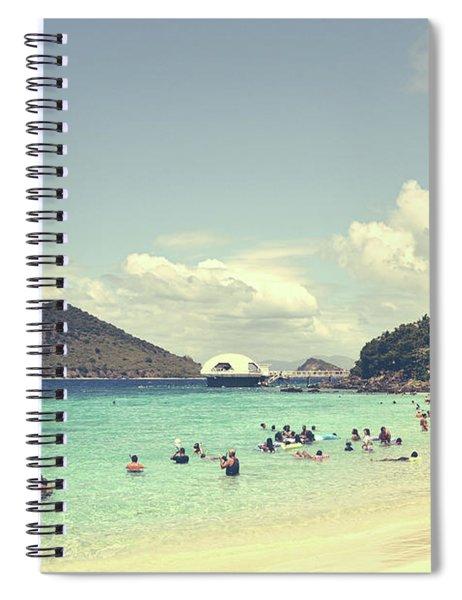 Beachscape Spiral Notebook